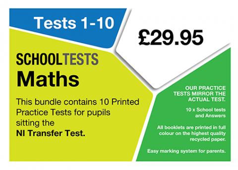 school Tests Maths Bundle image